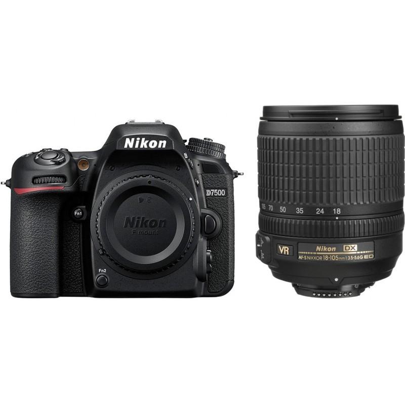 Nikon D7500 18-105 VR Kit