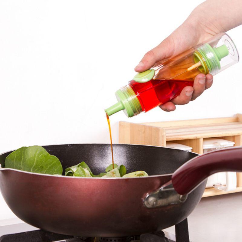 Двусторонняя Бутылочка-Распылитель Для Соуса И Масла 2 WAY Soy Sauce Bottle, Цвет Салатовый