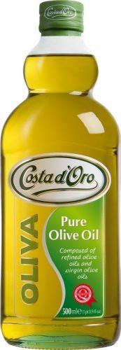 """Zeytun yağı Costa d'Oro """"Olio di Oliva"""" təmizlənməmiş əlavə ilə zərif, 500 ml"""