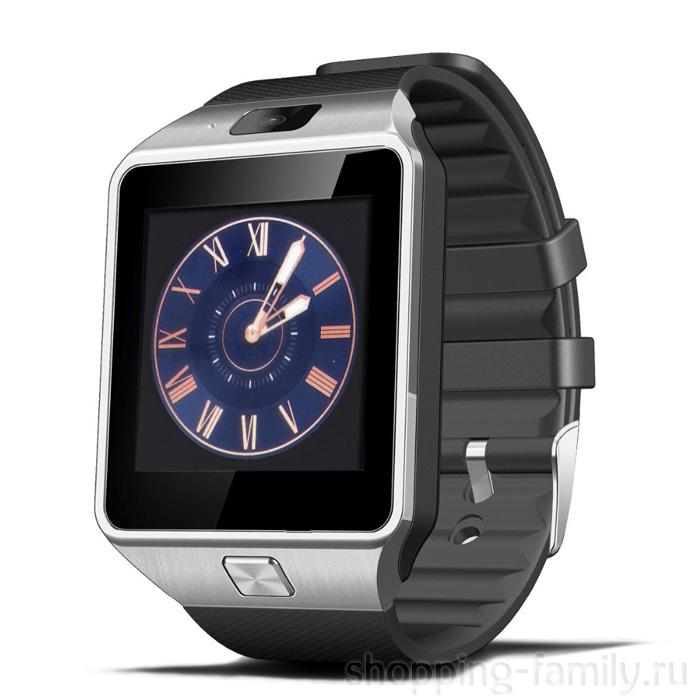 Умные часы Smart Watch DZ09, Цвет Серебряный