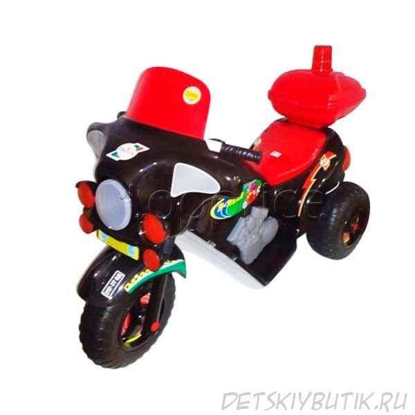 Электромотоцикл Orion Black, красный