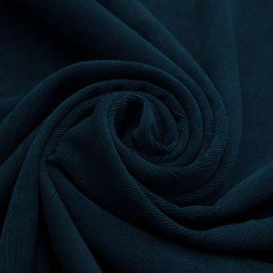 Микровельвет в рубчик темно-синий 50*50 см.