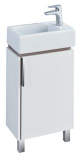 Тумба белый глянец/джарра 44,7 см Акватон Бэлла 1A221501BBAZ0