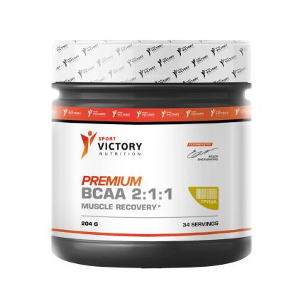 Premium BCAA 2:1:1, 204 гр Sport Victory Nutrition 34 порции