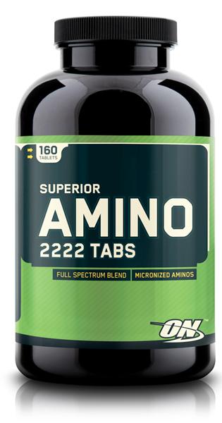 Superior Amino 2222 Tabs от Optimum Nutrition 160 таб