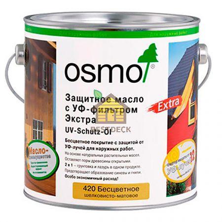 Защитное масло с УФ-фильтром Экстра UV-Schutz-Ol Extra, для наружных работ с биоцидами