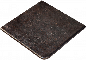 Ступень угловая Exagres Metalica Cartabon Fior. Basalt 33×33.5