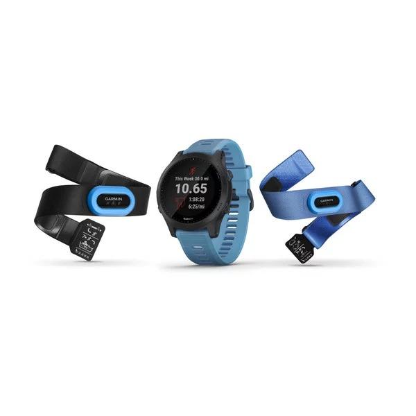 Часы Garmin forerunner 945 синие комплект HRM