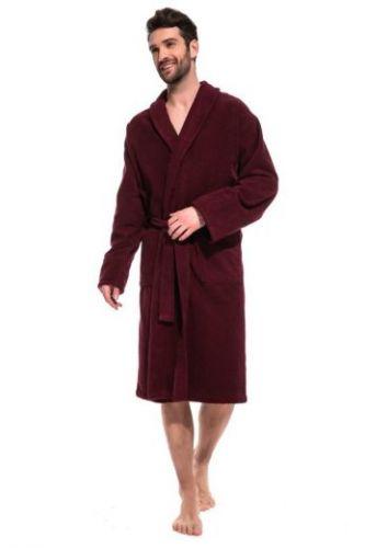 Мужской махровый халат Vinous Label