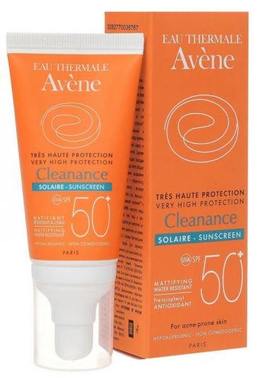 Avene Клинанс Эмульсия Солнцезащитная для проблемной кожи SPF50+