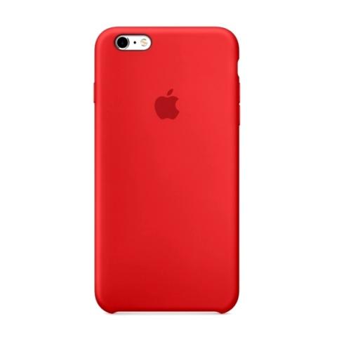 Силиконовый чехол Apple для iPhone 6 Plus/ 6S Plus Red