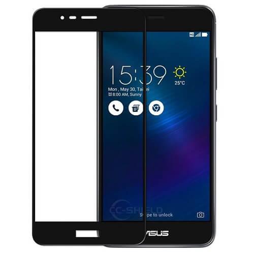Защитное стекло полное (2.5D) для Asus Zenfone Max (M1, ZB555KL) Черный