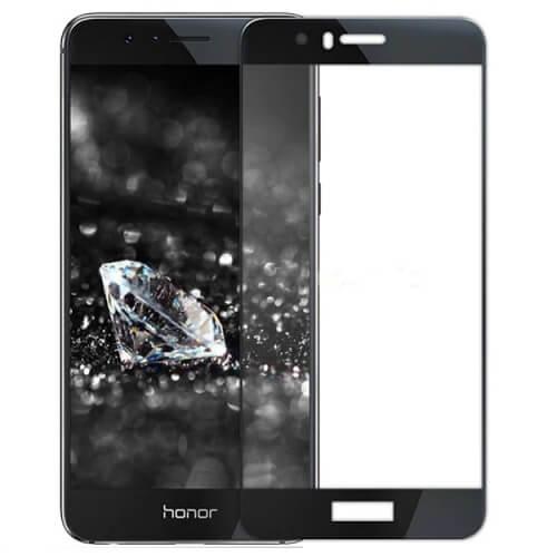 Защитное стекло полное (2.5D) для Huawei Honor 6C Pro Черный