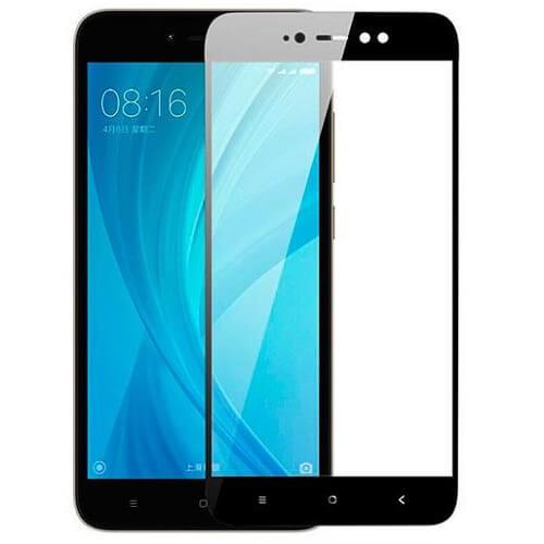 Защитное стекло полное (2.5D) для Xiaomi Redmi Note 3, 3 Pro Черный