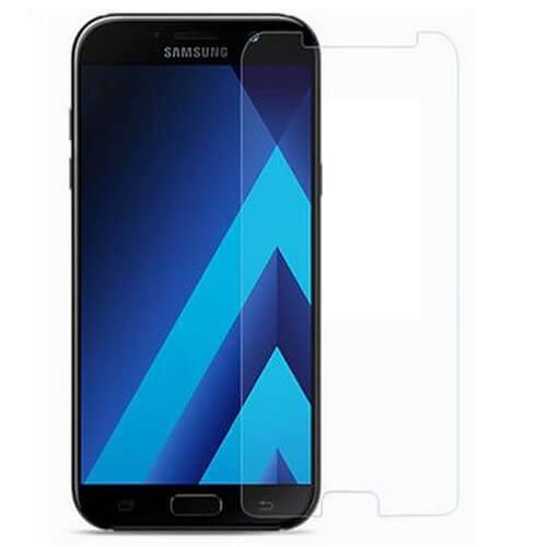 Защитное стекло (плоское) для Samsung Galaxy A6+ 2018 (A605F)