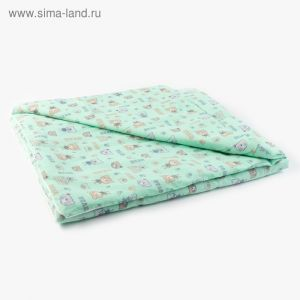 Одеяло 100х140см, бязь/синтепон, 120/100гм, хл100%