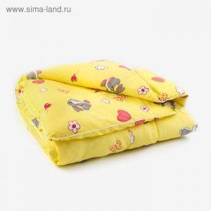 Одеяло 100х140см, бязь/синтепон, 120/300гм, хл100%