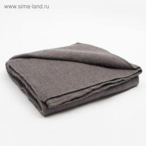Одеяло полушерстяное, размер 100х140 см, цвет микс/клетка