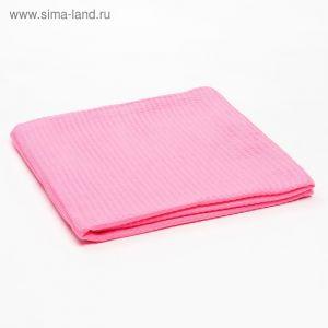 Плед вафельный, размер 110х140 см, 240 гр/м, цвет мармелад