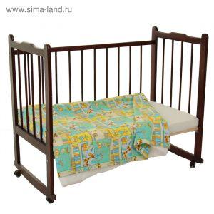 Пододеяльник детский, размер 147*112 см, цвет МИКС 6043   1915276