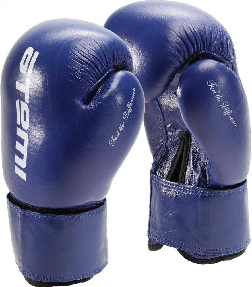 Перчатки боксерские ATEMI синие LTB19009
