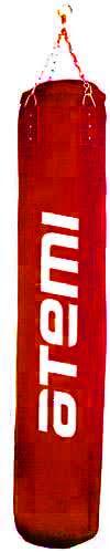 Мешок боксерский без набивки (100х35) ATEMI красный PS-10010