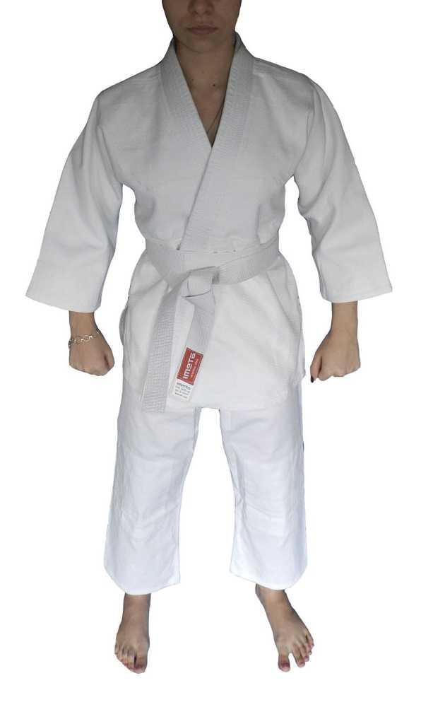 Кимоно для дзюдо ATEMI белое PJU-302