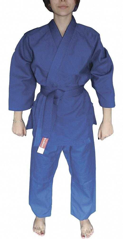 Кимоно для дзюдо ATEMI синее PJU-302