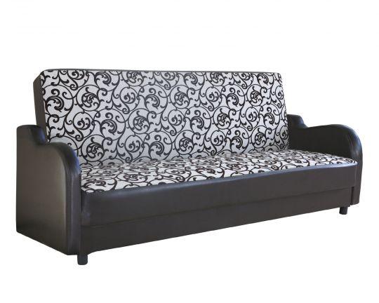 Диван-кровать Классика В шенилл серый узор