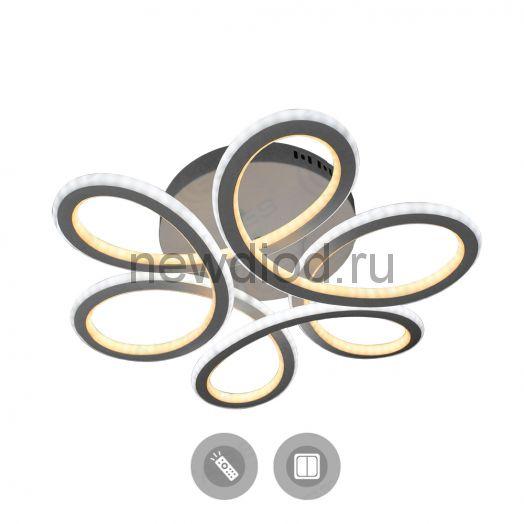 Управляемый светодиодный светильник VOLNA SLIM DOUBLE 85W 3R-500/150-WHITE/OPAL-220-IP20