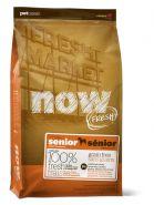 """NOW FRESH беззерновой корм для собак """"Контроль веса"""" с индейкой, уткой и овощами Grain Free Senior Dog Food Recipe 11,3 кг"""