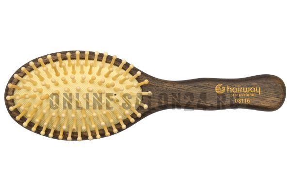 Щетка Hairway Ash овальная, малая 9 рядов