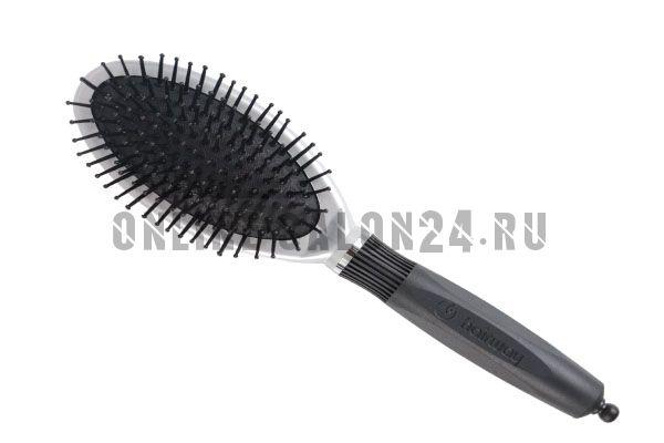 Щетка Hairway Black Style 9-ряд.овальная