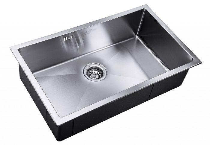 Врезная кухонная мойка ZorG INOX RX-7444
