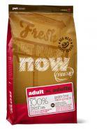 NOW FRESH™ Беззерновой для взрослых собак со свежим мясом ягненка  Red Meat Recipe for Adult Dogs 11,3 кг