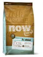 NOW FRESH™ Беззерновой для щенков крупных пород с индейкой, уткой и овощами (Fresh Puppy Large Breed Recipe Grain Free) 11,3 кг