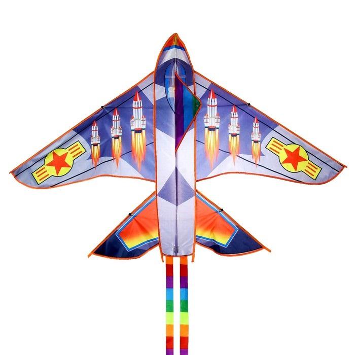 Воздушный змей РАКЕТА 160Х110 см