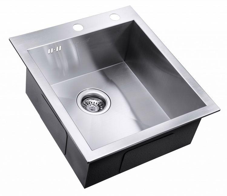 Врезная кухонная мойка ZorG INOX X-4551