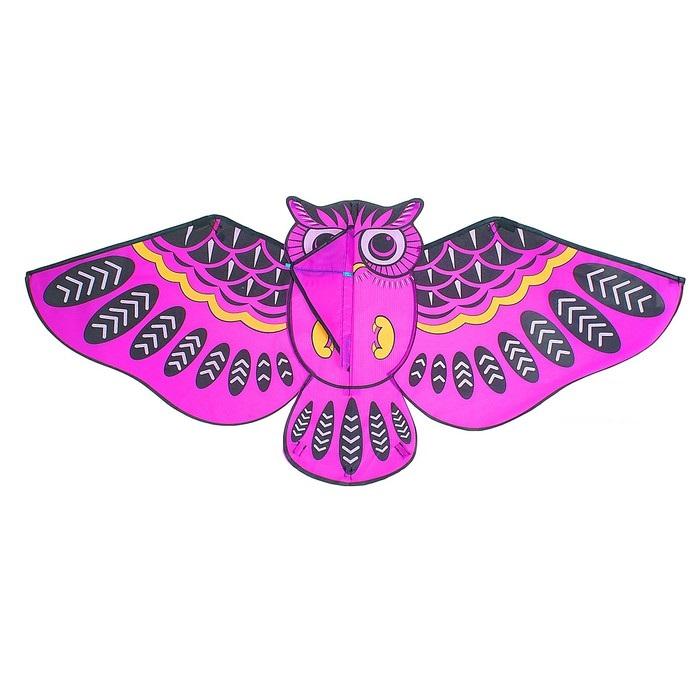 Воздушный змей СОВА 110Х50 см