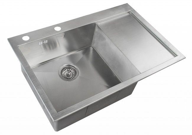 Врезная кухонная мойка ZorG INOX X-7851-L