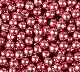 Шарики Розовые Хром (d5 мм) 50 гр.