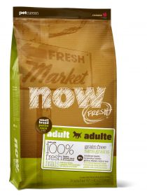 NOW Natural holistic Беззерновой для взрослых собак малых пород с индейкой, уткой и овощами Fresh Small Breed Adult Recipe Grain Free, 11,3 кг
