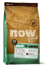 NOW Natural holistic Беззерновой для взрослых собак малых пород со свежим ягненком и овощами Fresh Small Breed Recipe Red Meat Grain Free, 5,45 кг