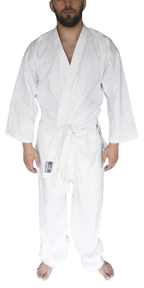 Кимоно для карате отбеленное ATEMI AX1
