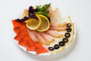 Рыбная тарелка 660 гр