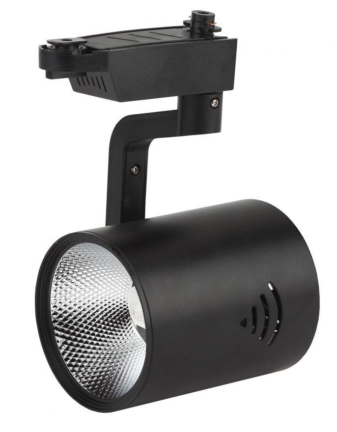 Трековый светильник на шинопровод ЭРА TR1-30 BK