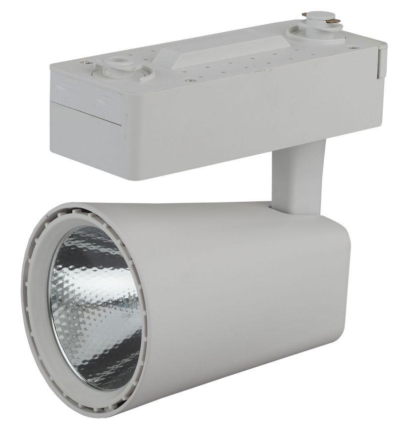 Трековый светильник на шинопровод ЭРА TR4-30 WH