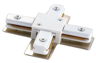 Соединитель для шинопроводов 1-фазный Volpe Х-образный Volpe белый UBX-Q121 K41 WHITE 1 POLYBAG