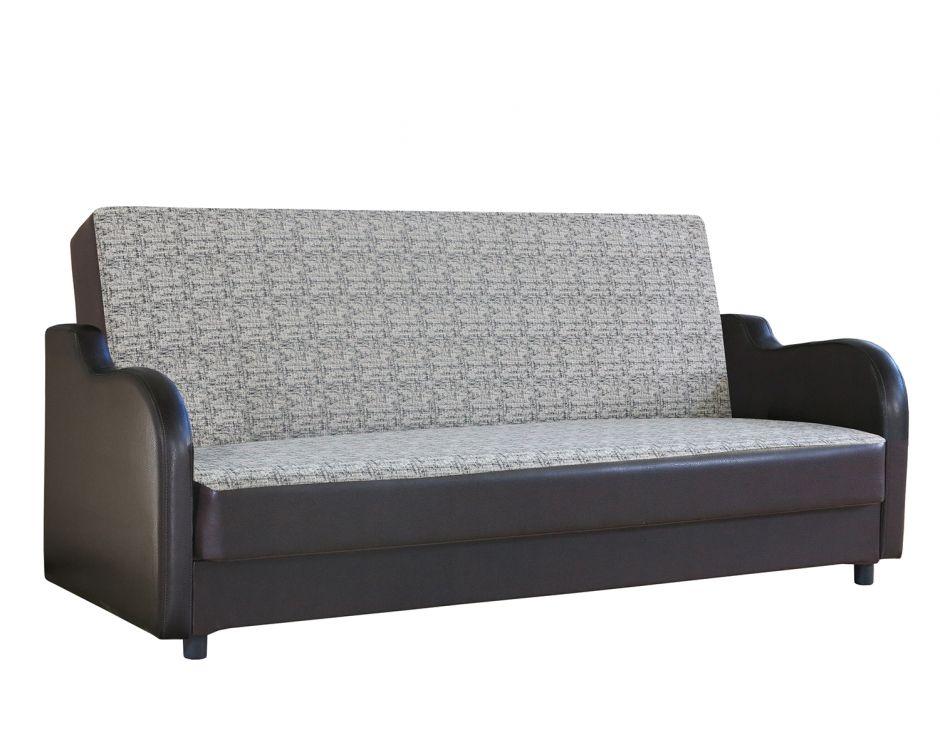 Диван-кровать Классика В велюр серый