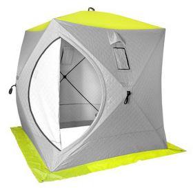 Палатка зимняя Куб PREMIER 1,5х1,5 утепленная